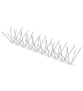 Dissuasori per volatili anti piccioni 80 punte inox base for Dissuasori piccioni amazon