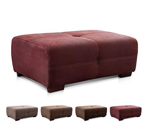 Cavadore Hocker Mavericco Grosser Sitzhocker In Lederoptik Industrial Style Passend Zu Big Sofa Und Ecksofa Mavericco 108 X 71 X 41 Cm Bxhxt