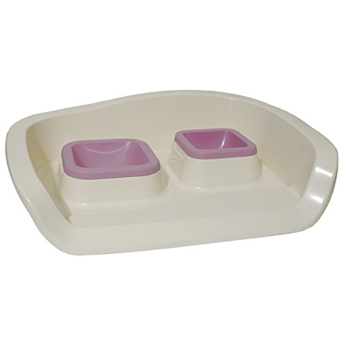 ROSEWOOD Twin Nuvola 2 Feeding Tray Set, Cotton Candy