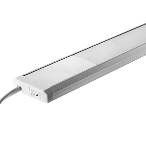 SEBSON® LED sottopensile luce calda, 120cm, 20W (pari a 85W), 1300 ...
