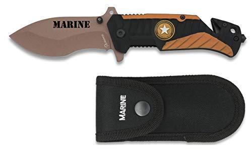 Albainox - 19743 - Navaja albainox Marine. Hoja: 8,2 cm - Herramienta