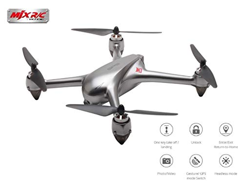 Drone MJX B2SE Motor sin escobillas RC Drone 1080P Cámara HD 5G WiFi FPV GPS preciso Altitud Mantenga Smart Flight RC Quadcopter RTF