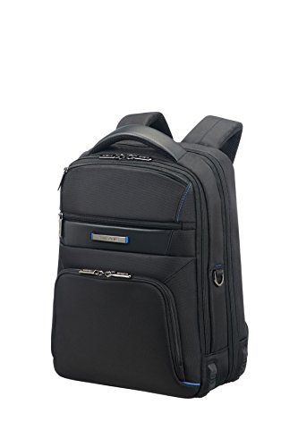"SAMSONITE Aerospace - Laptop Backpack 14.1"" Mochila tipo casual, 41 cm, 15 liters, Negro (Black)"