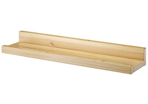 fotoleiste holz Erst-Holz® Wandregal Massivholz Kiefer Fotoleiste für Bilder Bücher und Deko 90.82-12
