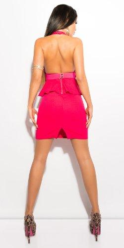 Mini robe style pour femme avec ceinture Rose - Rose bonbon