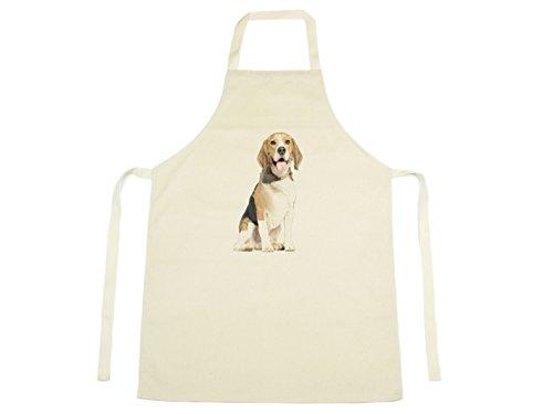 Jack fairweather – Beagle Aquarelle Design Imprimé sur Tablier en coton naturel pour chien Puppy Pet 1152