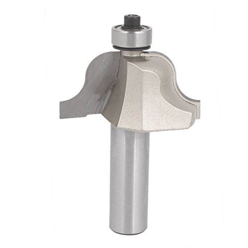 DealMux 1/2 Inch x 1-1/4 Inch Carbide Tipped Roman Ogee Router Bit Cutting Tool w Ball Bearing -