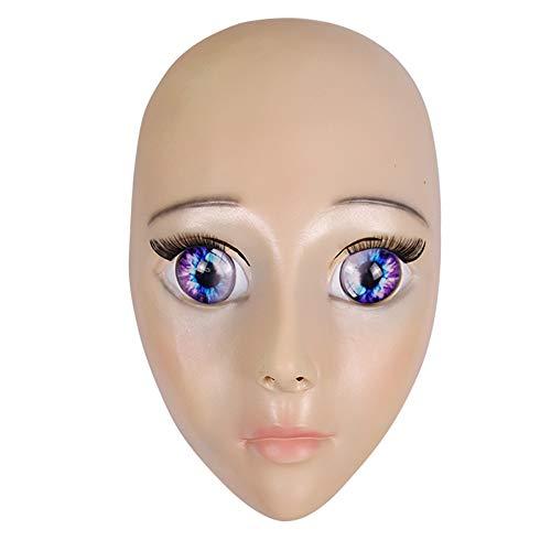 roße Augen Nette Puppe Große Augen Schönheit Maske Anime Show Göttin Maske Cos Zeigen Requisiten Studio Modell ()