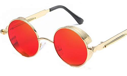 Aoweika Retro Polarisierte Damen Sommer Sonnenbrille Herren Sonnenbrille Outdoor UV 400 Brille für Fahren Angeln Reisen Party Club Beach