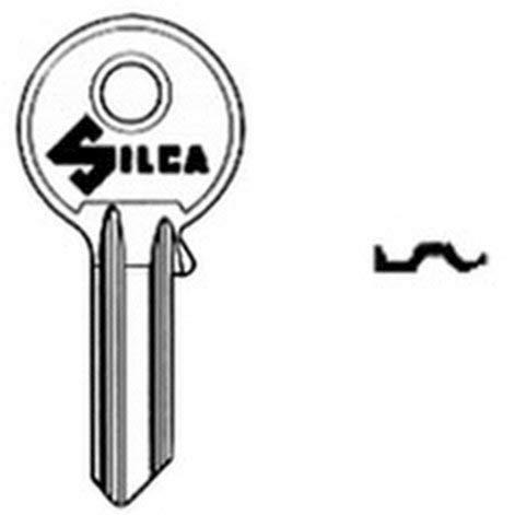 Schlüssel Silca Messing universal-5SP.Rid.S -