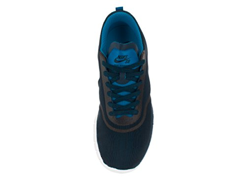 Nike - NIKE SB LUNAR PAUL RODRIGUEZ 9, Scarpe da ginnastica Unisex – Adulto Multicolore (Negro / Azul / Blanco (Obsidian / Photo Blue-White))