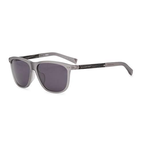 Ermenegildo Zegna Herren EZ0009-F Sonnenbrille, Grau, 60
