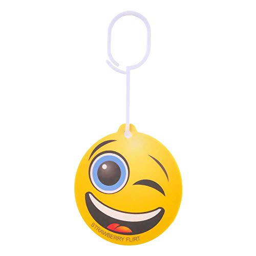 TOPPEN SWEDEN Car Air Freshener Emoticon Strawberry Flirt