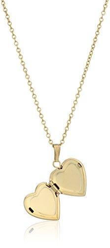 Childrens-14k-Gold-Filled-Heart-Locket-Pendant-Necklace-15