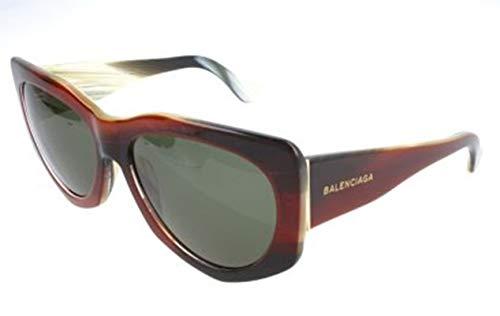Balenciaga Damen Ba0018 47N-58-17-140 Sonnenbrille, Braun, 58