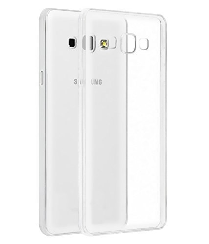 Johra For Samsung Galaxy On8 Back Cover, Case Soft TPU Case For Samsung On8 Transparent Back Cover