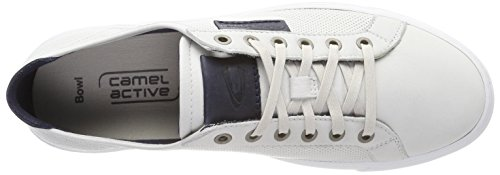Camel Active Bowl 17, Sneakers Basses Homme Blanc (White/midnight)
