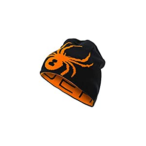 Spyder Reversible Bug Kinder Ski Mütze – schwarz