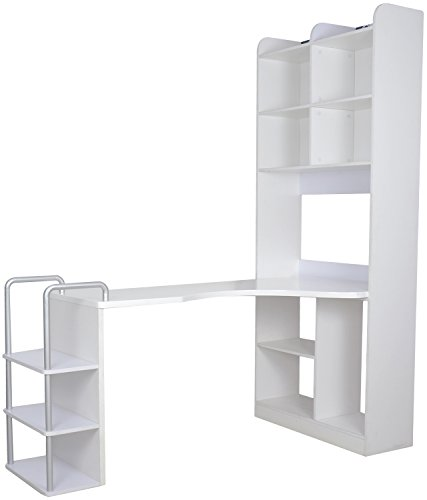 Kids Kouch Study Table (White)