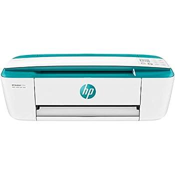 HP DeskJet 3762 - Impresora de tinta multifunción (8 ppm, 4800 x 1200 DPI, A4, Wifi, Escanea, Copia, 60 hojas, Modo silencioso), Verde agua