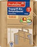 Profissimo Tragegriff-Bio-Kompostbeutel mit Tragegriff, 1 x 12 St