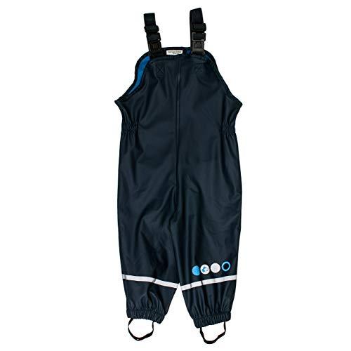 SALT AND PEPPER Baby-Jungen Regenhose Trousers RB B Boys Uni Blau (Navy 480) 80