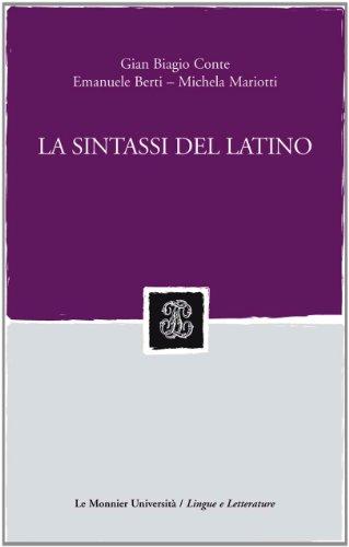 La sintassi del latino