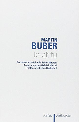 Je et tu par Martin Buber