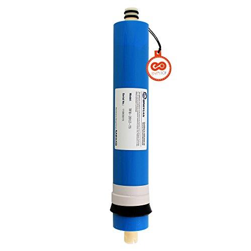Umkehrosmose Dünnschicht Wasserfilter Wasserhahn Membran für Wasser-Systeme natur Standard RO 75 GPD (Niedrigen Schwefel -)