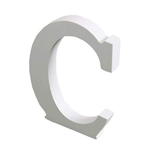 BOENZN Große Wand Buchstaben Festzelt Alphabet Dekorative Holzbuchstaben, 15 cm Hängende Wand 26 Buchstaben DIY Block Worte Zeichen