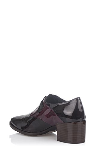 Laura Moretti Buckle Shoes, Chaussures Femme Marron