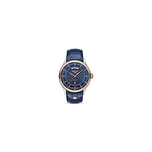 ROAMER Herren Analog Quarz Uhr mit Leder Armband 508293 49 45 05