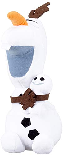 Simba 6315872458SCH - Disney Frozen Plüsch Olaf mit Schneeball 25 cm