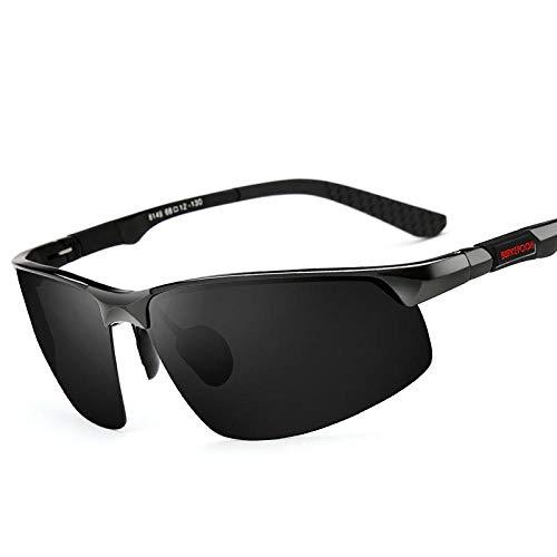 Edg Sonnenbrille Herren polarisierte Brille 2017 Neue Persönlichkeit Sonnenbrille Augen Flut langes Gesicht Fahren Fahren Fahrerspiegel
