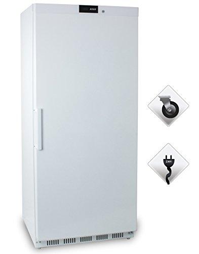 Zorro - Tiefkühlschrank ECO600F - weiß - Gastro Tiefkühlschrank mit Volltüre - R600A - Gefrierschrank ?