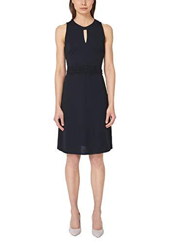 s.Oliver BLACK LABEL Damen 11.904.82.7330 Partykleid, Blau (True Blue 5959), (Herstellergröße: 34) Damen-elf