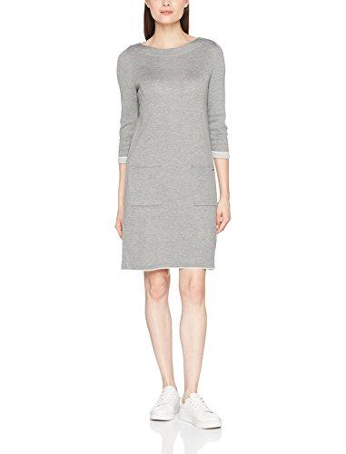 s.Oliver Damen Kleid 14.801.82.7372, Grau (Silver Grey Melange 9700), 38