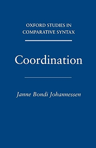 Coordination (Oxford Studies in Comparative Syntax)
