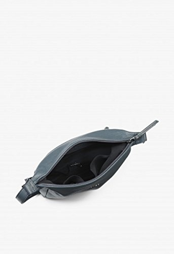 BREE, Borsa a zainetto donna nero black 26,5 cm x 25 cm x 8 cm (B x H x T) grigio chiaro