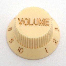 Göldo KBSVK Volume-Knopf für Strat / creme
