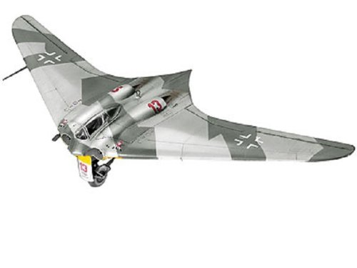 Revell Modellbausatz Flugzeug 1:72 - Horten Go 229 im Maßstab 1:72, Level 4