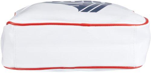 Gola Redford CUB901, Unisex - Erwachsene Henkeltaschen, 36x27x12 cm (B x H x T) Weiss/White/Navy/Red