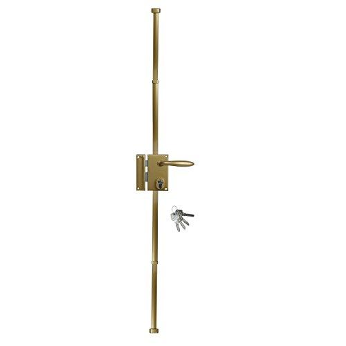 BRICARD 74623Schloss Vertikale Multi-Touch 3Punkte, gold -