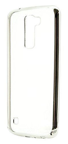 X-One 199568 - Funda Tipo TPU para LG K10, Color Plateado