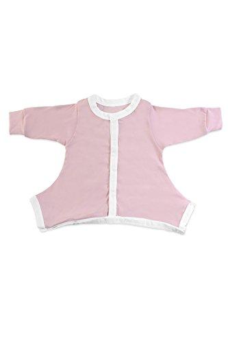 Hip-Pose Baby-Schlafanzug für Spreizhose und Gipshosen für Neugeborene 0 - 3 Monate, pink
