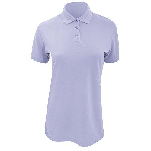 Polo à manches courtes Kustom Kit Klassic Superwash pour femme Bleu - Bleu clair