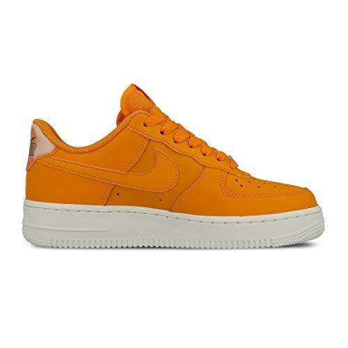 Nike Damen WMNS Air Force 1 '07 ESS Basketballschuhe, Mehrfarbig Orange Peel/Summit White 801, 40 EU