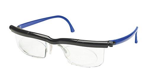 Adlens Individuelle Brille Sehhilfe Lesebrille / schwarz blau / -3.25 Dioptrien