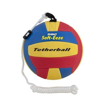 (Champion Sports Rhino Soft-eeze Tetherball, RSTB9, Mehrfarbig, 23 cm)