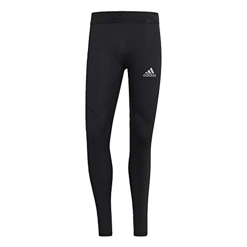 adidas Herren Alphaskin Sport Lange Tight, Black, XL